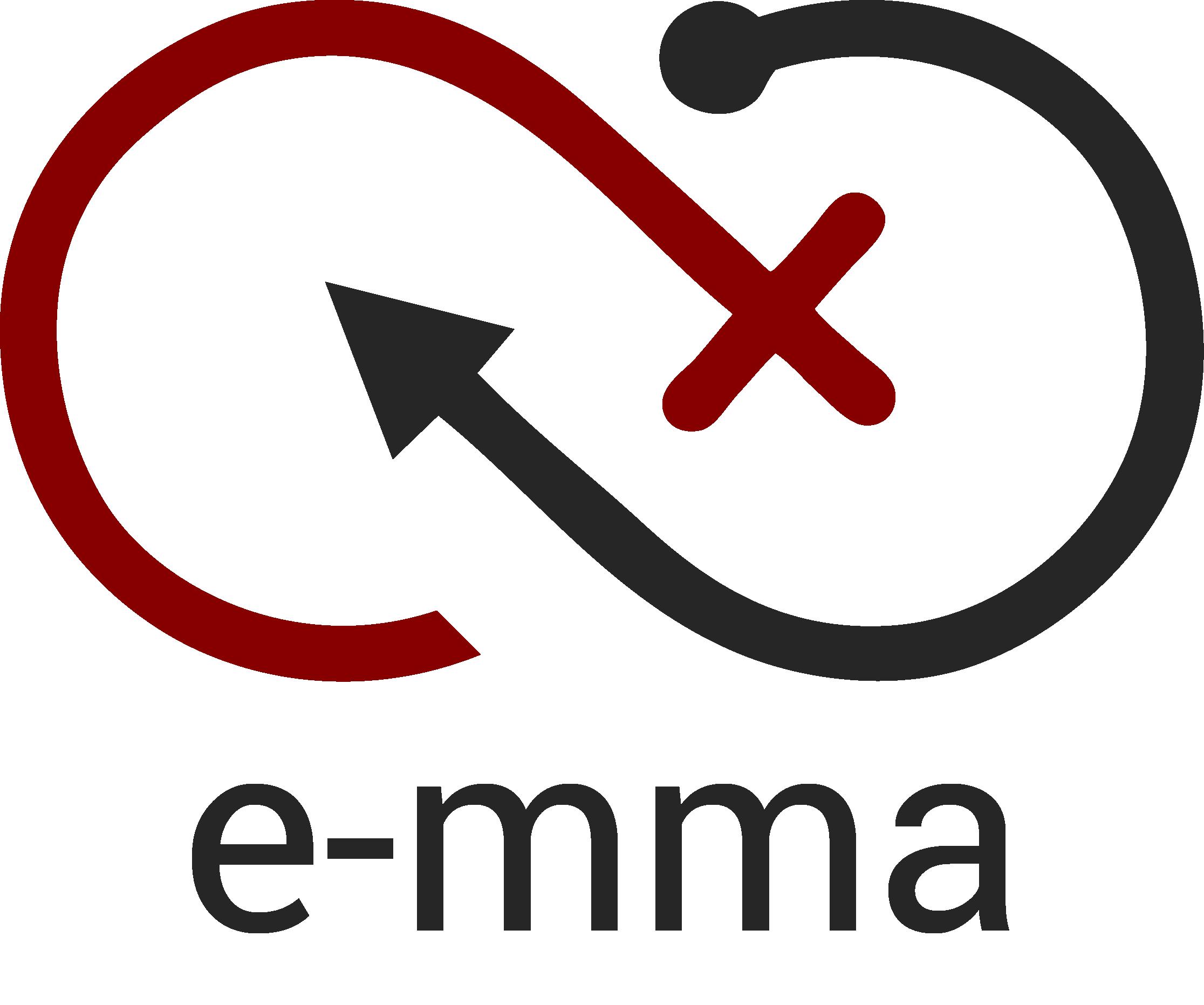 E-mma logo